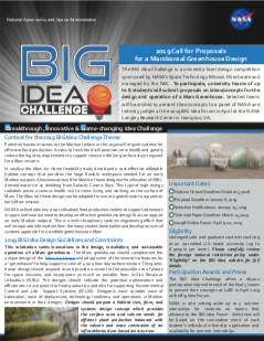 2019 BIG Idea Flyer